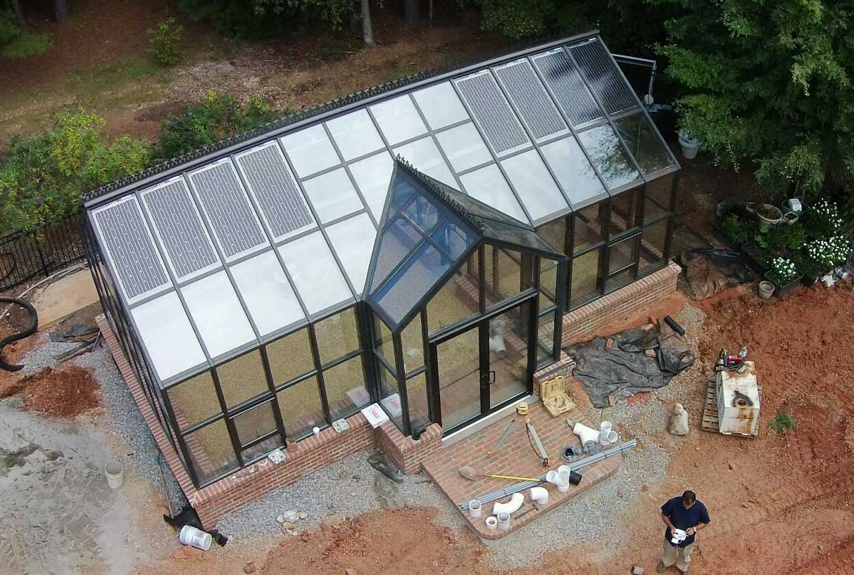Solar Greenhouses Are The First Step Toward Total Sustaility Now You Can Grow Your Plants In A Room Generating Its Own